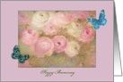 Wedding Anniversary Step Sister Customize Pastel Floral card