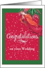 Wedding Congrats Illustrated Angel custom front card
