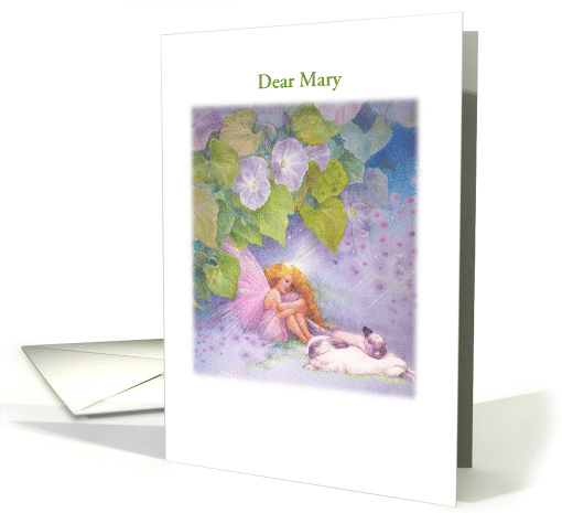 Magical Flower Fairy Age Specific Birthday card (1234750)