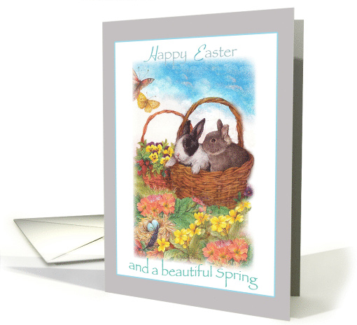 for Future Son in Law illustrated Easter Bunny card (1246844)