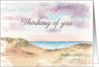 Seascape,Thinking of You,Mum's Anniversary card