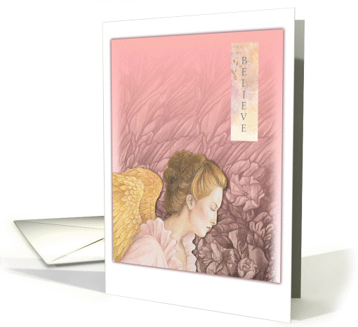 Believe In Angel Magical Daughter Birthday card (787501)