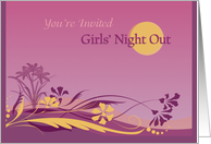 Girls' Night Out / Invitation card