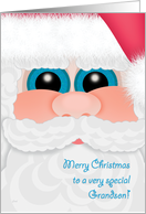 Grandson Christmas Santa Kid's Cards