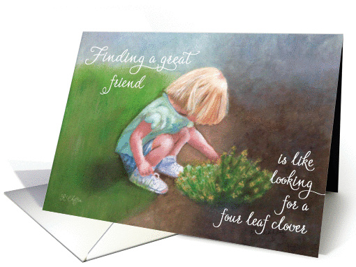 Birthday - Finding a Great Friend card (365443)