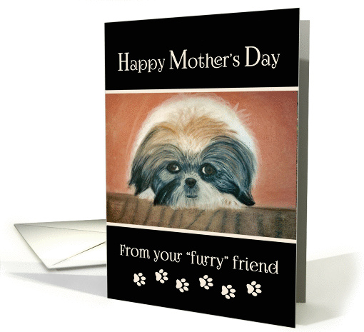 Happy Mother's Day from dog card (393334)