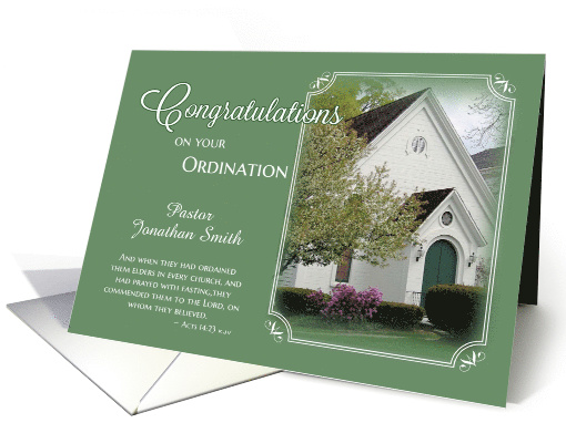 Congratulations on ordination cards for pastor from greeting card pastor ordination congratulations card thecheapjerseys Image collections