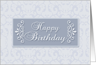 Business Happy Birthday for employee card