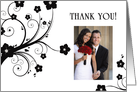 thank you! : flowers picture card