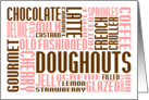 doughnuts chitChat card