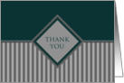 sophisticated general thank you card