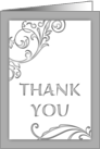 General Thank You (blank inside) card