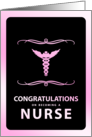 congratulations on becoming a nurse card