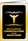 congratulations on your medical degree card