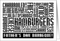 Father's Day Barbeque Invitation card