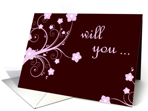 will you be my bridesmaid? card (275586)