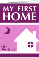 my first home : indie home card