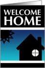 welcome home party invitations : pop home card