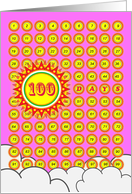 Baby Girl's First One Hundred Days Milestone, Sunshine card