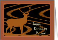Birthday for Papaw, A Deer in the Field card