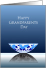 Happy grandparents day, antique bowl card