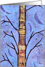 Blue Spirit Tree Enchanted Forest Aspen Tree card