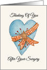 Thinking Of You After Surgery card