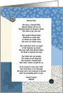 Dented Halo Poem Get Well After Brain Surgery card