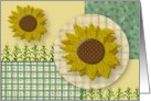 Country Sunflowers Thanksgiving Card