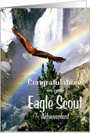 Congratulations - Eagle Scout - Mountain Scenery card