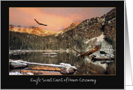 Invitation - Eagle Scout - Court of Honor - Nature Scape card