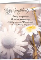 Grandparents Day Card - Daisies card