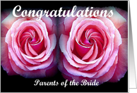 Congratulations on Your Daughter's Wedding card