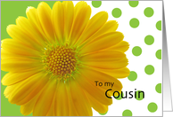 Cousin-Will you be my Flower Girl?? card