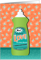 Love Dishsoap Thinking of You card