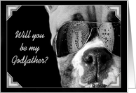 Will you be my godfather boxer card