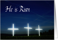 He is Risen - Easter Greetings card
