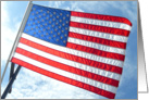 Flag Day Greetings card