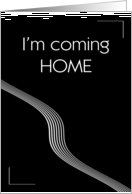 Coming Home card