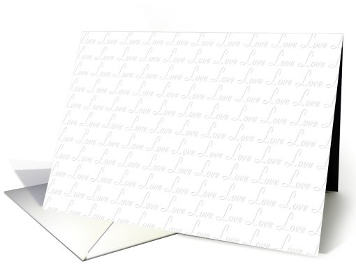 Love Notes card (464628)