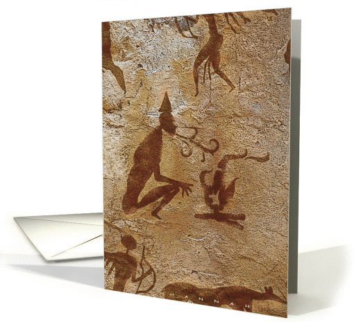 Cave Painting card (324955)