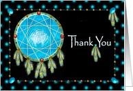 Thank You, Native American, Dreamcatcher card