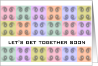 get together soon card