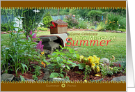 Summer Picnic card