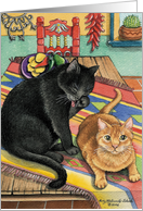 Cats On A Sarape Birthday EK #15 card