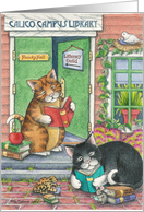 Cats College/School Beginning (Bud & Tony) card