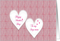 happy mother's day step mom card