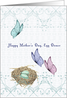 Mother's Day for Egg Donor card