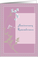 Anniversary Remembrance for Mum card
