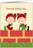 National Siblings Day card